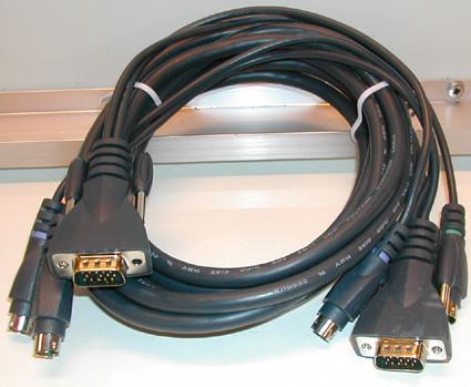 Kabel 2 x monitorkontakt +