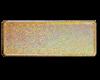 Gull glitter skilt med navn og dato