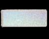 Sølv glitter med navn og dato