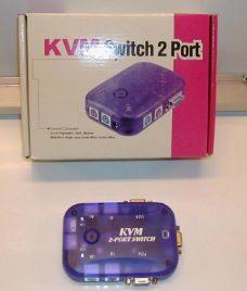KVM Switch 2 Port
