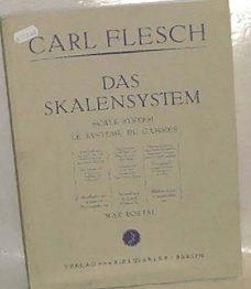 Carl Flesh. Das Skalensystem
