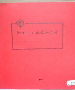 Barnas noteskrivebok