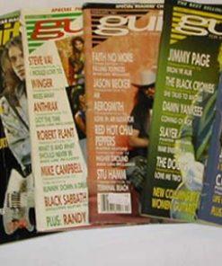 GUITAR. 1990-1991.