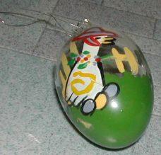 Glass-egg