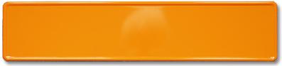 Skilt orange
