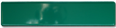 Skilt grønt