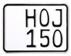 MC-skilt streetfighter 150 x 110 m