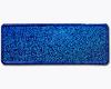 Blå glitter med navn og dato