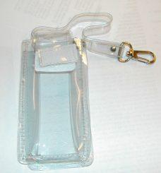 Transparent veske for mobil