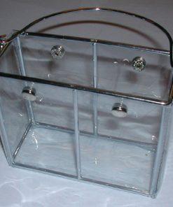 Transparent oppbevaringsboks