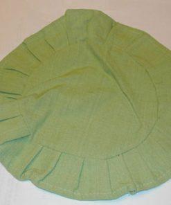 Duk, grønn, rund