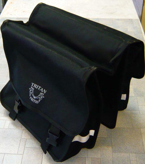 Sykkelveske for bagasjebrett.