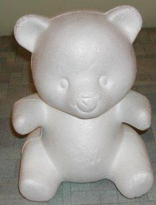 Bjørn i isopor