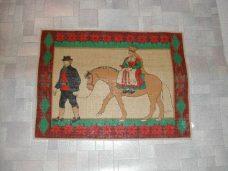 Brudepar på hest