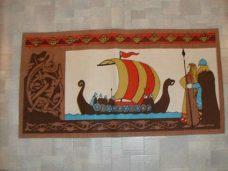 Løper, vikingeskip.