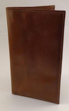 Lommebok brunt okseskinn