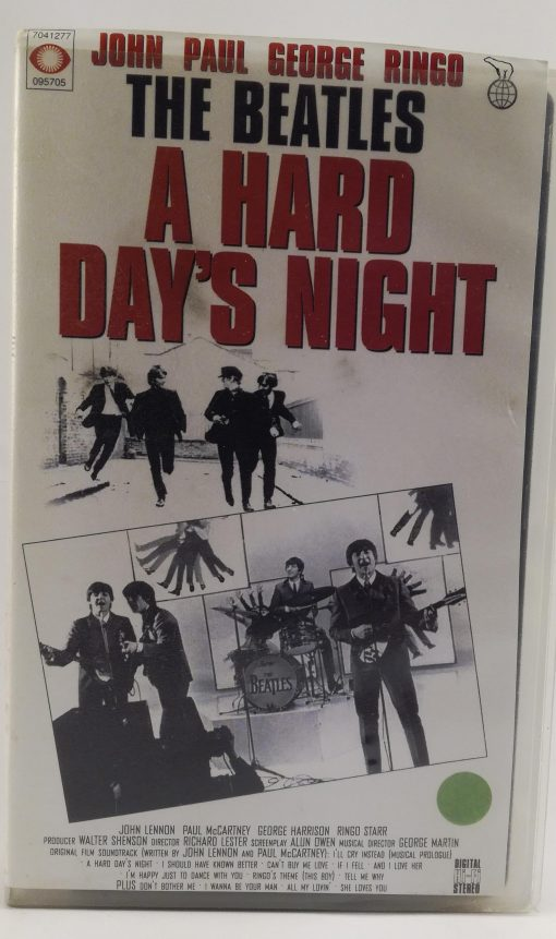 The Beatles A Hard Day`s Night - VHS.